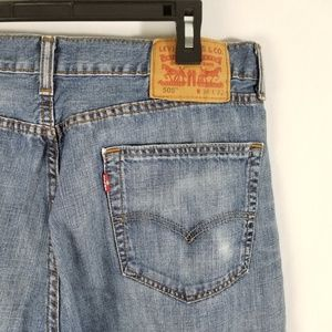 Levi's 505 Mens Blue Jeans Sz 34x32 Medium Wash
